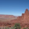 The Fisher Towers loom into the sky, Moab, Utah