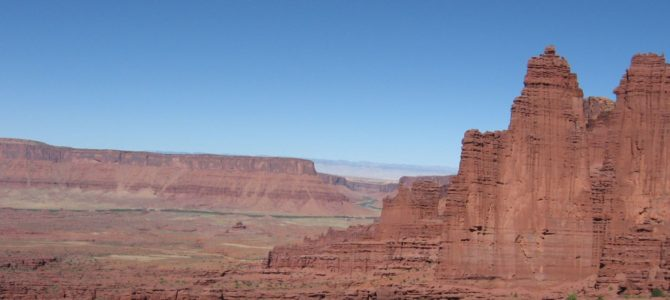"""Fisher Towers: """"Towers Loom Into The Sky…"""""""