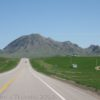 Approaching Bear Butte State Park, South Dakota