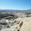 Views from Wind Caves in Anza-Borrego Desert State Park, California, are reminiscent of movie shots.