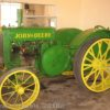 An old John Deer Tractor at the Larsen Tractor Museum, Lincoln, Nebraska
