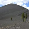 The cinder cone in Lassen National Park, California