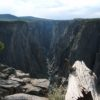 Exclamation Point on the North Rim of Black Canyon of the Gunnison, Black Canyon National Park, Colorado