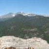 Part of the view from Lily Mountain, Rocky Mountain National Park, Colorado