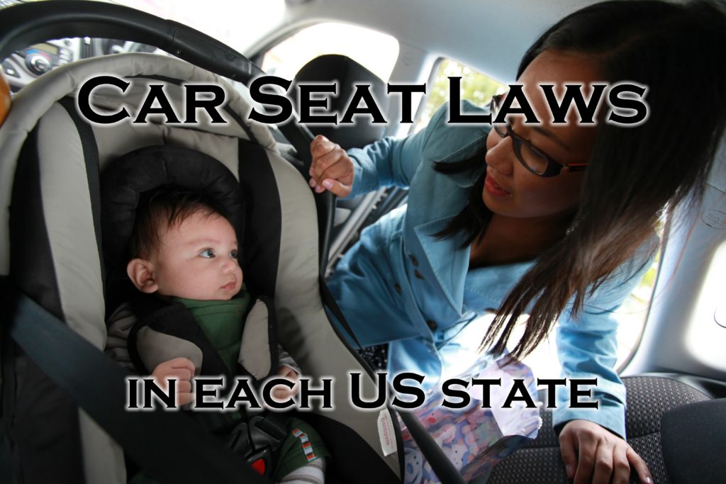 Car Seat Laws In Each US State