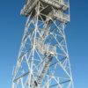 The fire tower on Warren Peak, Black Hills National Forest, Wyoming