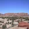Overlooking Chesler Park near the Joints Trail, Canyonlands National Park, Needles District, Utah