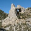 Front view of Lexington Arch, Great Basin National Park, Nevada