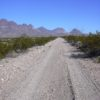 The River Road in Big Bend National Park, Texas