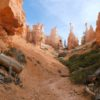 Hiking the Peek-a-Boo Trail at Bryce Canyon National Park, Utah