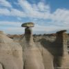 Hoodoos in the Bisti Wilderness Area, New Mexico