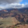 A view from Skeleton Point on the South Kaibab Trail, Grand Canyon National Park, Arizona