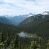 Views from Twisp Pass in North Cascades National Park, Washington