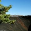 A crater along the Big Crater Trail in Craters of the Moon National Monument, Idaho