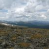 View from Chapin Peak in August, Rocky Mountain National Park, Colorado
