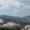 Beartooth Pass offers visitors both outstanding views and rocky highlands, Beatooth Pass, Wyoming/Montana