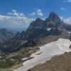 Grand Teton and Cascade Canyon from Table Mountain, Grand Teton National Park, Wyoming