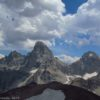 Views of Table Mountain from the Huckleberry Trail, Grand Teton National Park and Jedidiah Smith Wilderness, Wyoming