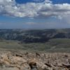 View from Mount Rearguard, Custer National Forest, Montana