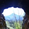 Mountains Framed by one of the Manitou Train Tunnels, Colorado