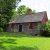 The Wick House in Jockey Hollow, Morristown National Historic Park, New Jersey