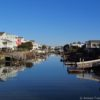 From the fishing dock at Da Beau's, Holden Beach, North Carolina