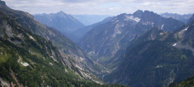Some of the Best Views in the Cascades from Sahale Arm