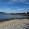 The beach at Sailfish Street Park, Holden Beach, North Carolina