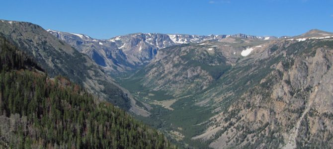 Vista Point on the Beartooth Highway