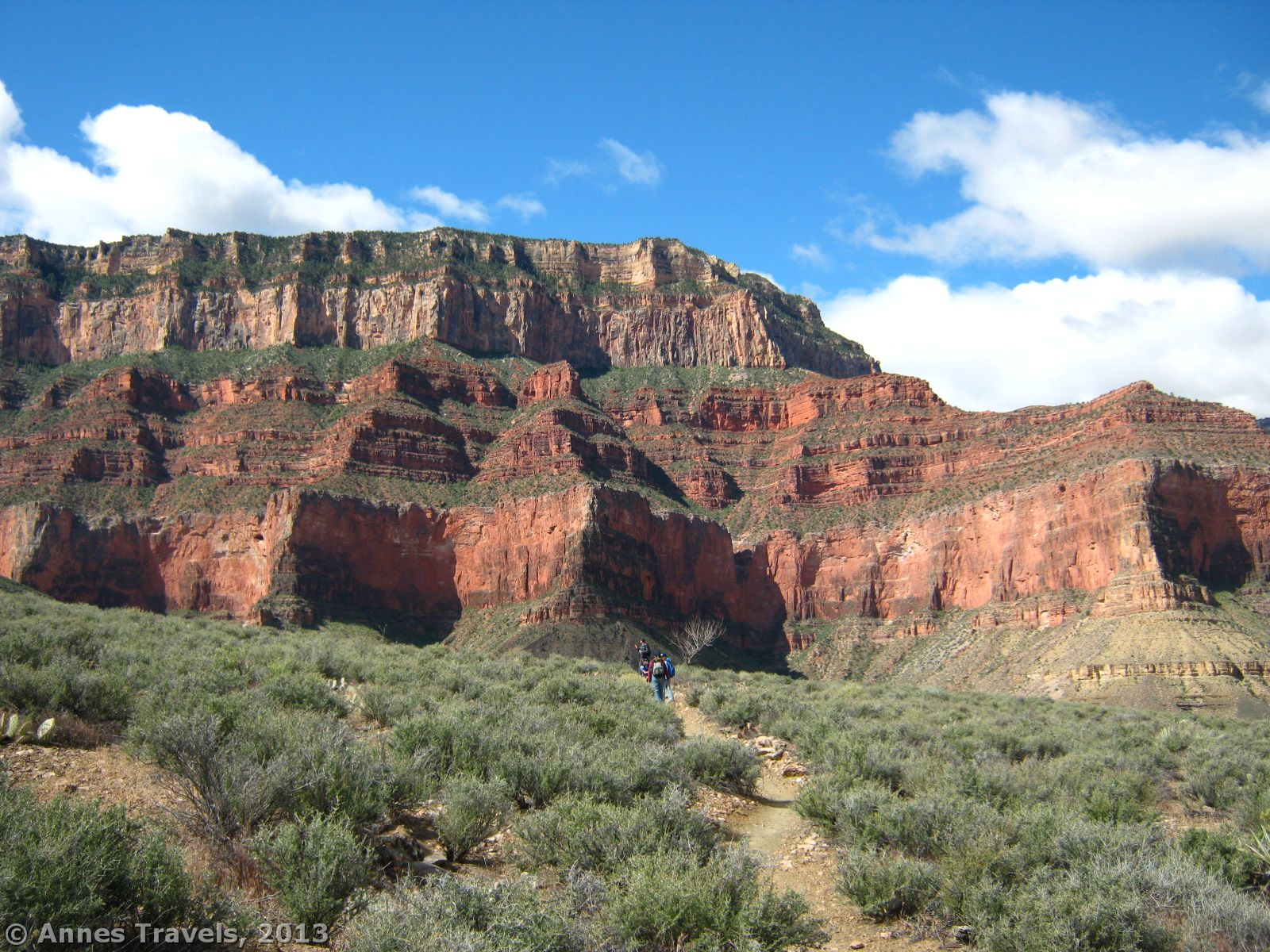 Canyon Vs Colorado >> Tonto Trail: South Kaibab to Bright Angel - Anne's Travels