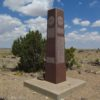 Monument Marking the Highest Point in Oklahoma, Black Mesa State Park, Oklahoma