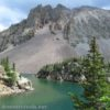 Lake Agnes as seen while circling the lake counter-clockwise, State Forest State Park, Colorado