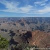 View of Newton Butte from Shoshone Point in the Grand Canyon, Grand Canyon National Park, Arizona