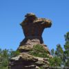 The Camel's Head, one of the rock formations along the Heart of Rocks Loop Trail, Chiricahua National Monument, Arizona