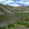 Hanging out at Linkins Lake, Hunter-Fryingpan Wilderness Area, White River National Forest, Colorado