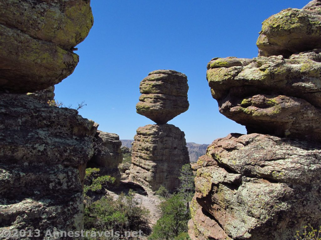 Canyon Vs Colorado >> Chiricahua Loop: To the Big Balanced Rock - Anne's Travels