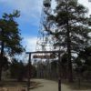 """The """"trail"""" to the Grandview Lookout Tower (Fire Tower), Kaibab National Forest near Grand Canyon National Park, Arizona"""