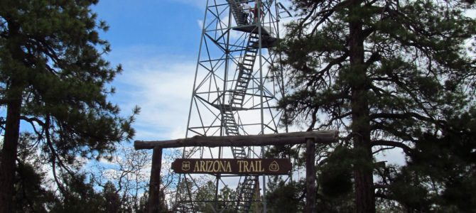A New Grand Canyon View: Grandview Lookout Tower