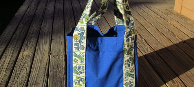 Water Bottle Tote Bag