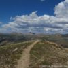 On top of UN 12812 above Independence Pass, San Isabel and White River National Forests, Colorado