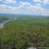 The Delaware River and the Poconos from the top of Mount Minsi, Delaware Water Gap National Recreation Area, Pennsylvania.