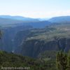 On Green Mountain overlooking Black Canyon of the Gunnison, Colorado