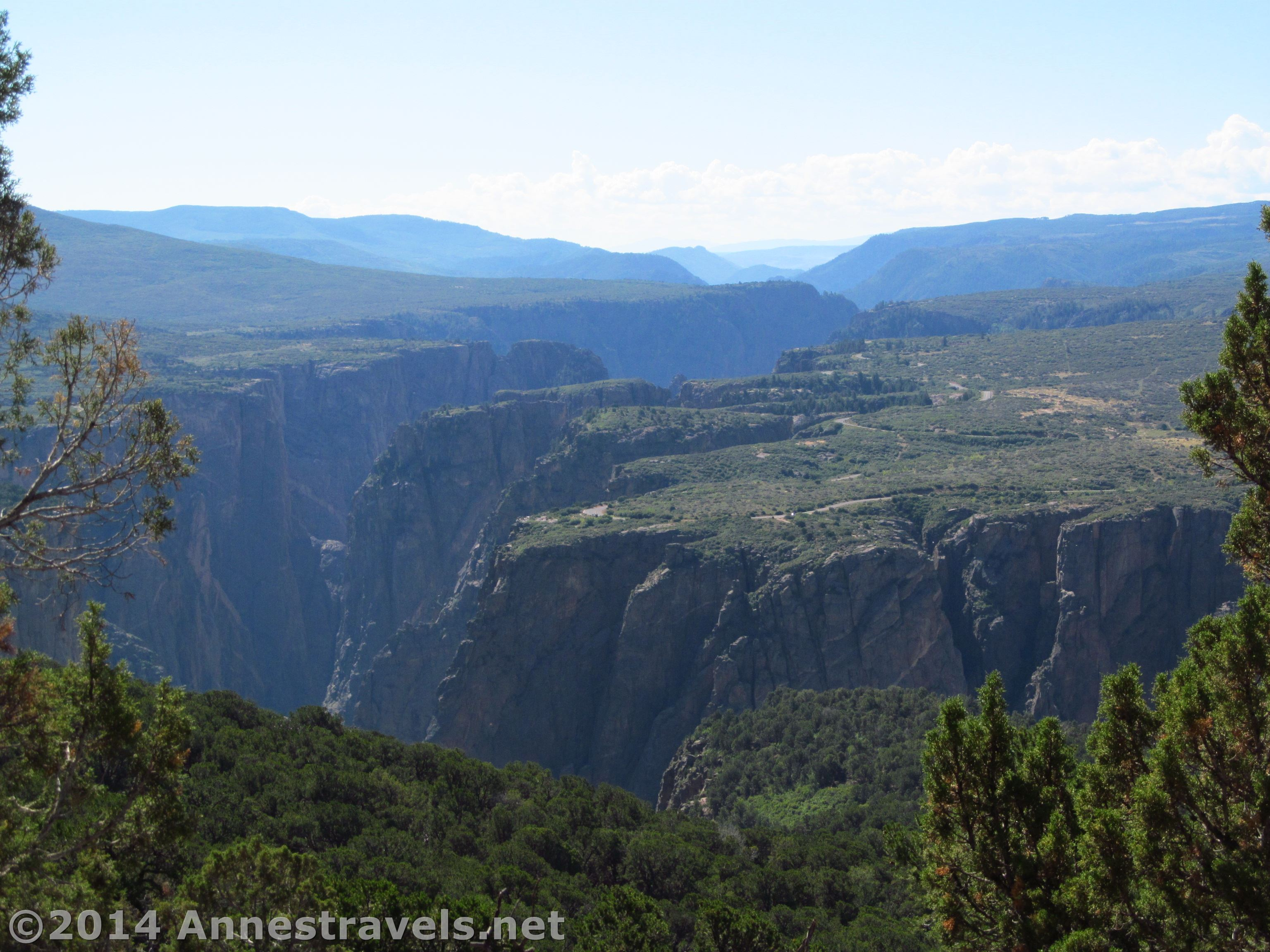 Hiking Up Green Mountain In Black Canyon Of The Gunnison