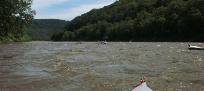 Tubing the Delaware – So Fun!