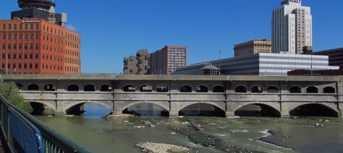 Genesee Riverway and Erie Canal Path: History via Bikes