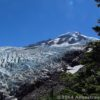 The view of Heliotrope Glacier and Mount Baker from Heliotrope Divide, Mount Baker-Snoqualmie National Forest, Washington