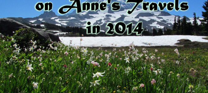 Top 10 Pages on Anne's Travels in 2014