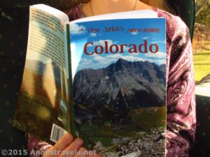 Reading A View Junkie's Guide to Dayhiking Colorado by Anne Whiting