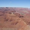 Views toward Deadhorse State Park from Canyonlands Overlook in Canyon Rims Special Management Recreation Area, Utah