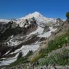 The shapely cone of Mt. Baker as seen from the Table Mountain Trail, Mount Baker-Snoqualmie National Forest, Washington